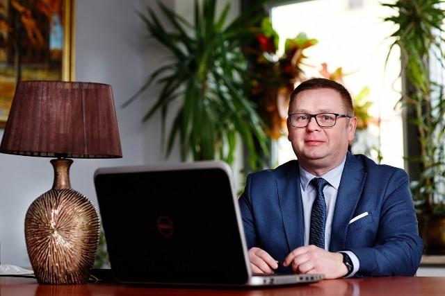 """Wojciech Legawiec, prezes zarządu """"Uzdrowisko Busko-Zdrój"""" Spółka Akcyjna"""