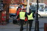 Sopot. Wypadek strażnika miejskiego podczas pościgu. Uderzył w lampę