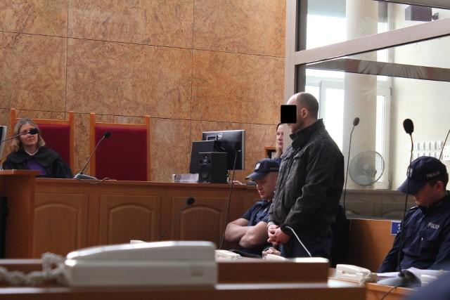 41-letni Marcin K. za zabójstwo ze szczególnym okrucieństwem w warunkach recydywy dostał karę dożywocia