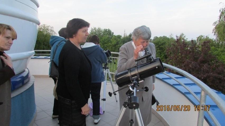 W astrobazie było ciekawie.