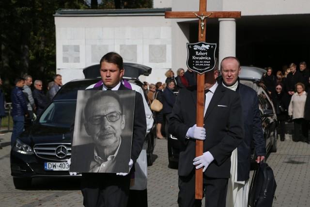 Pogrzeb Roberta Kwaśnicy, założyciela Dolnośląskiej Szkoły Wyższej