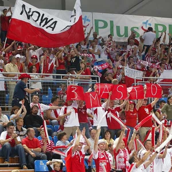 Kibice na Podpromiu wspomagali nasz zespół, jak mogli. Siatkarkom się podobał ich doping.