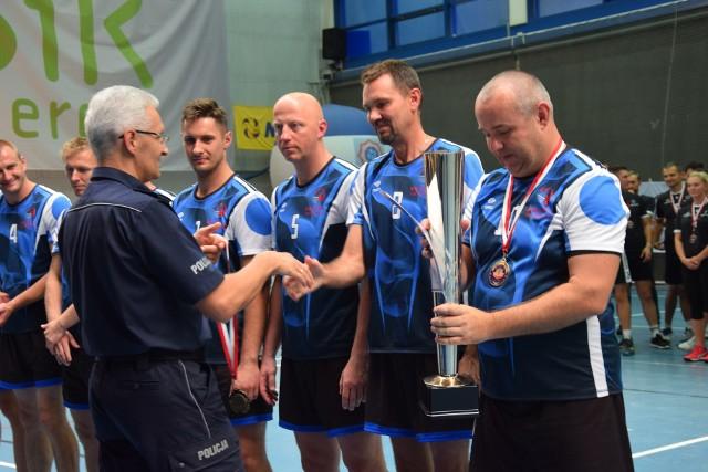 W dniach 11-12 września odbyły się Mistrzostwa Polski Policji w siatkówce.