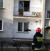 Piłsudskiego: Pożar bloku od garnka