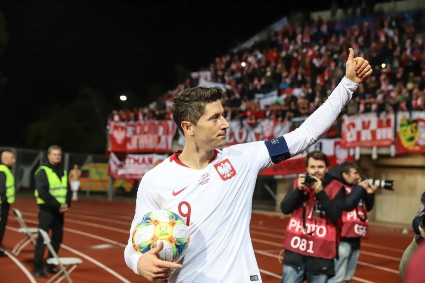 Kapitan reprezentacji Polski w mijającym roku strzelił aż 54...