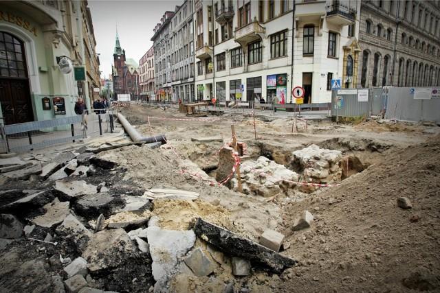 Remont ulicy Krupniczej we Wrocławiu - czerwiec 2014
