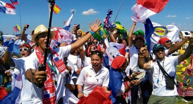 Wybuch radości wśród pielgrzymów z Panamy po decyzji o organizacji kolejnych Dni Młodzieży w 2019 roku
