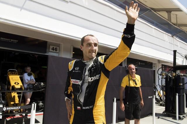 Robert Kubica na testach F1