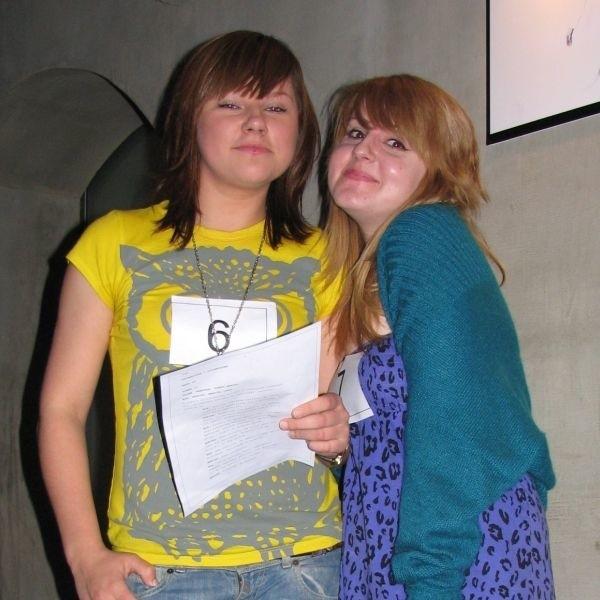 Agata i Mirella chcą zostać aktorkami. Na pewno będą zdawały do Akademii Teatralnej. Wzięły udział w castingu, by zdobyć doświadczenie