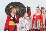 Klimaty Japonii w Rzeszowie. Uczniowie przygotowali na konkurs pokaz mody inspirowany klimatami Japonii [ZDJĘCIA]