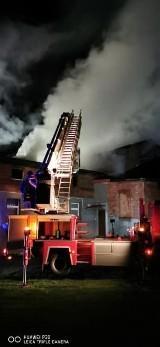 Pożar w Tychowie w gminie Sławno. Rodziny straciły cały dobytek. Potrzebna pomoc dla pogorzelców [ZDJĘCIA]