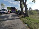 Tragiczny wypadek pod Brodnicą. Nie żyją dwie osoby. Droga była zablokowana
