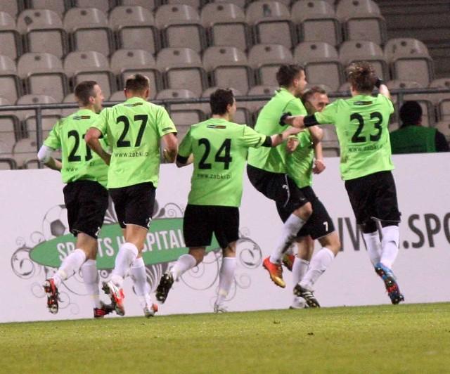 Dolcan Ząbki nie zrezygnował z walki o promocję do Ekstraklasy
