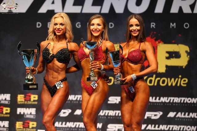 Patrycja Marciniak ze Świebodzina trzecia w kategorii bikini fitness na Debiutach 2019