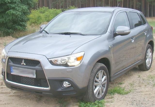 Mitsubishi asx to kolejny SUV na rynku. W tej klasie aut robi się naprawdę tłoczno (fot. Czesław Wachnik)