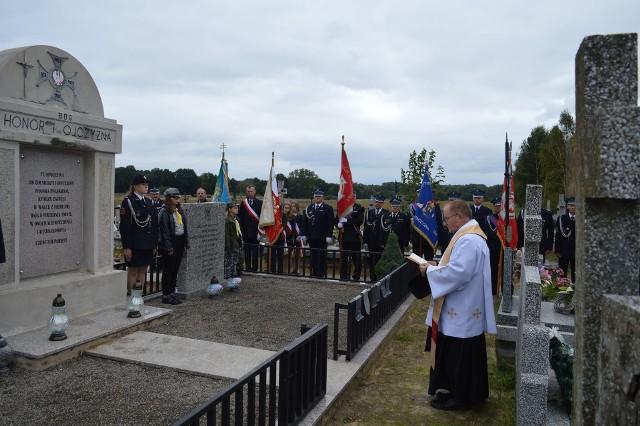 Uroczystość odbyła się w ostatnią niedzielę, 19 września. Była msza święta, a także złożenie kwiatów pod pomnikami i mogiłami poległych.