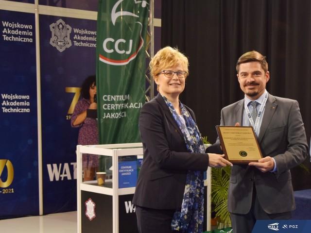 Uroczyste wręczenie certyfikatów przez Centrum Certyfikacji Jakości miało miejsce podczas Międzynarodowego Salonu Przemysłu Obronnego MSPO.