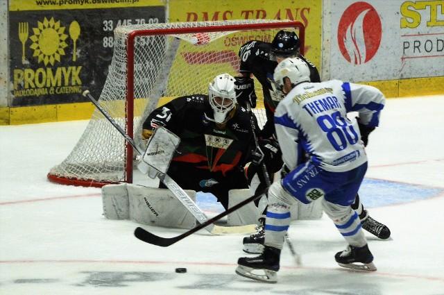 Andrej Themar zdobył kontaktowego gola dla Unii w Tychach, ale na wyrównanie oświęcimianom zabrakło już czasu.