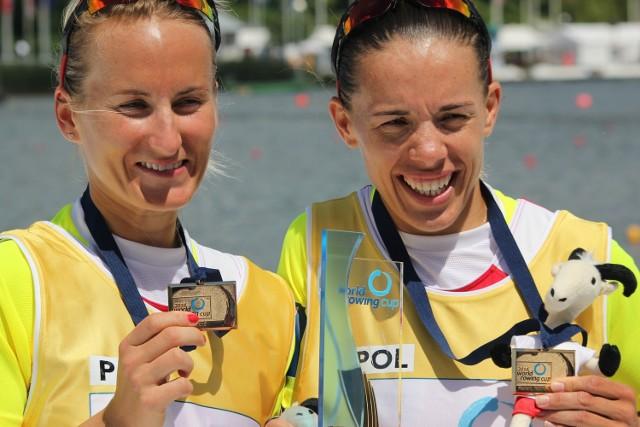Od lewej: Natalia Madaj i Magdalena Fularczyk-Kozłowska znakomicie rozpoczęły rywalizację na torze olimpijskim w Rio