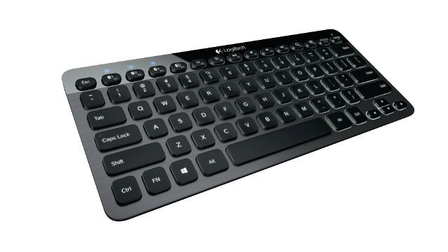 Logitech Bluetooth Keyboard K810Logitech Bluetooth Keyboard K810: Sama się podświetla