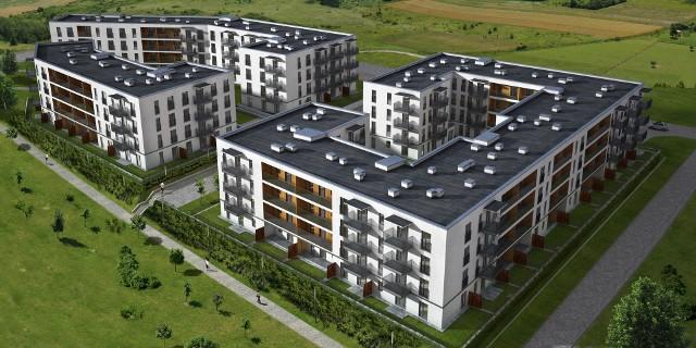 Nowy Początek Tak ma wyglądać osiedle przy ul. Strzeszewskiego w Lublinie.