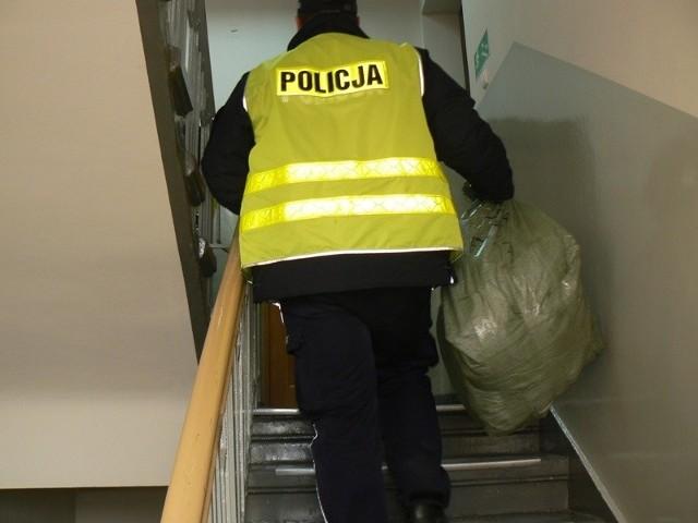 Podrabiane towary zabezpieczyli policjanci z Jarocina i Turku
