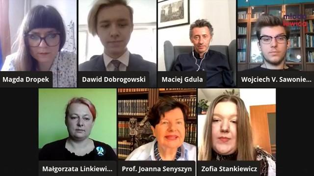 Młoda Lewica zwołała konferencję prasową, broniąc 17-latki skreślonej z listy uczniów ZSK. Szkoła wydała oświadczenie w sprawie relegowanej uczennicy