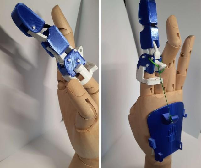 - Chcemy, aby nasze protezy pomogły w powrocie do możliwie pełnej sprawności osobom po urazowych utratach palców dłoni - mówią autorzy projektu