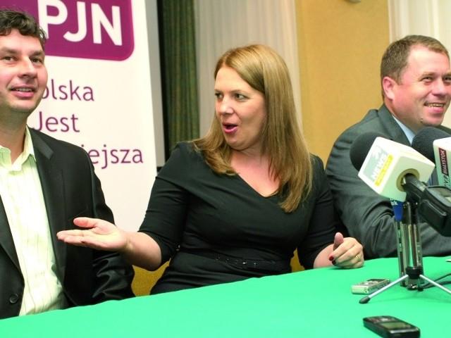 Elżbieta Jakubiak do Białegostoku przyjechała wspierać listę PJN