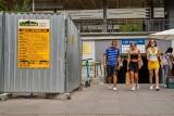 Trwają prace rozbiórkowe wokół dworca Gdańsk Wrzeszcz. Wkrótce przenosiny do nowego obiektu