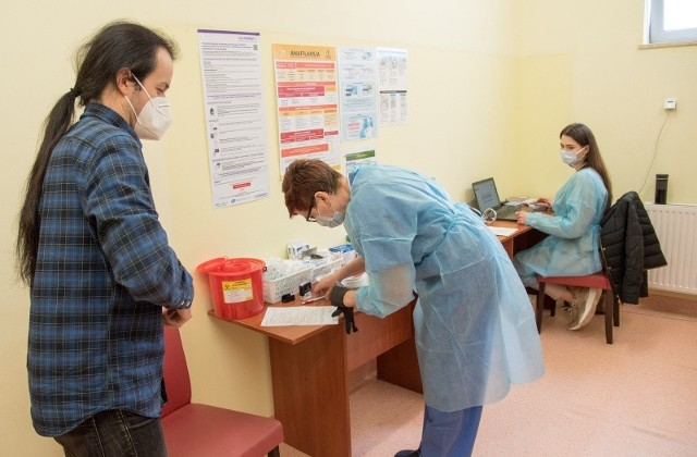 Punkty szczepień powszechnych działają od 4 maja