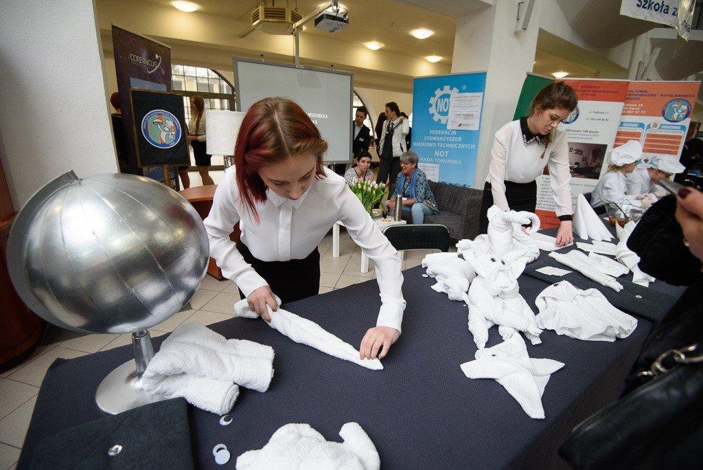784706f3e5ce9 I Toruńskie Forum Zawodowców odbyło się w Centrum Targowym Park. Impreza  została przygotowana z myślą
