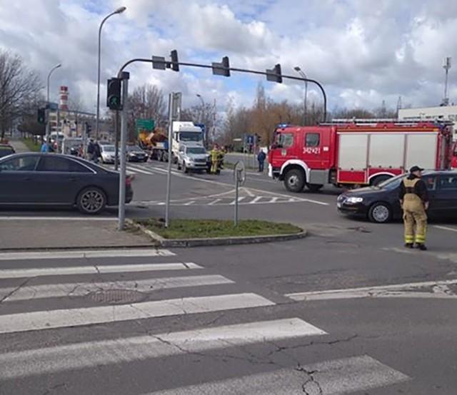 W Zielonej Górze doszło do kolejnego wypadku.