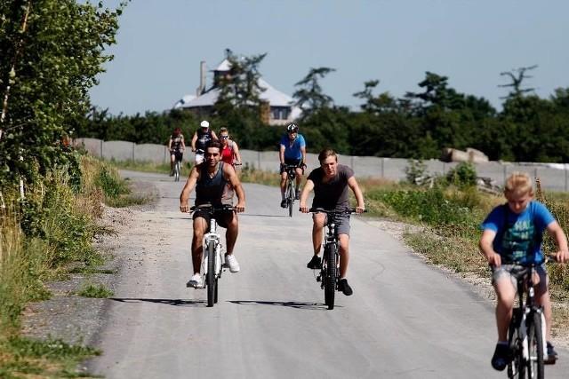Rodzinny rajd rowerowy w Miechowie