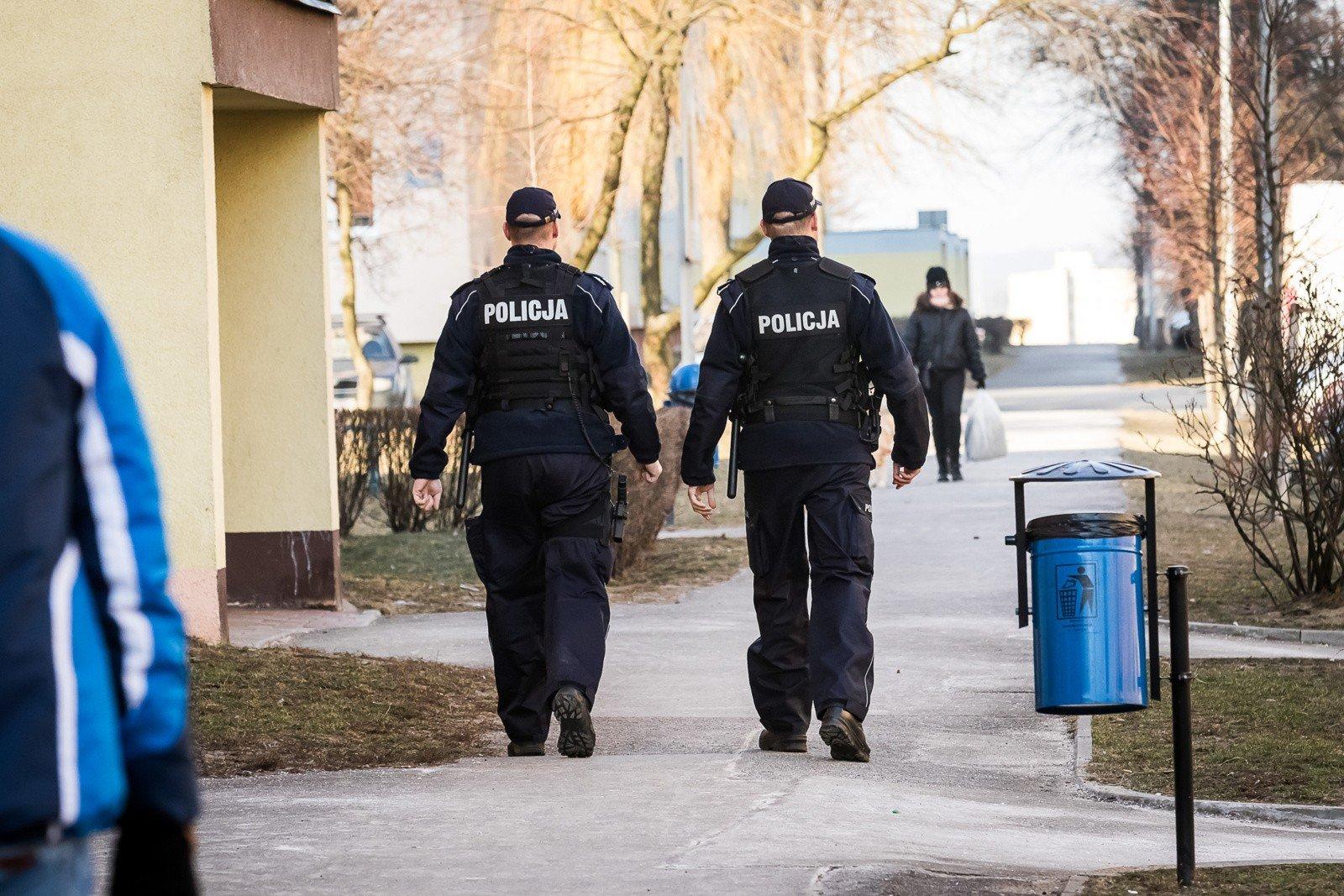Psia Grypa W Woj Lubelskim Policjanci Masowo Biorą Zwolnienia