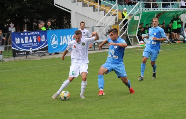 Piłkarze Stali Stalowa Wola przegrali w Boguchwale z Błękitnymi Stargard