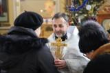 Powitanie nowego duszpasterza. Ksiądz Wiktor Tetiurka objął probostwo w Dąbrowie Białostockiej