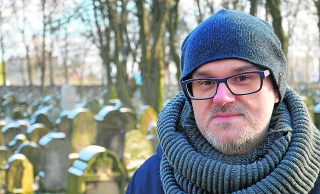 Janusz Kozioł porównuje trudności przy renowacji tarnowskiego kirkutu do... walk Machabeuszy, których pamiątką w religii żydowskiej jest właśnie Chanuka
