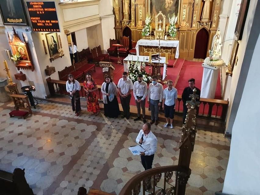W sulechowskim kościele wystąpili uczniowie Diecezjalnego Studium Organistowskiego z Zielonej Góry.