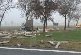 Wypadek dwóch ciężarówek na DK5 [ZDJĘCIĄ]