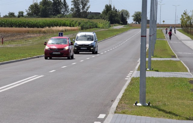 Nowy łącznik wraz ze zmodernizowanym fragmentem ul. Lipowej, to wspólna inwestycja miasta Inowrocław i gminy Inowrocław
