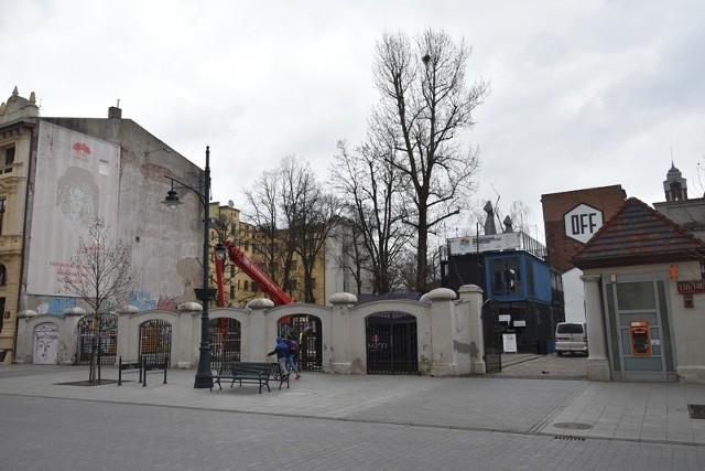 Fern Office zamknie podwórze Off Piotrkowska Center od strony ulicy Piotrkowskiej.