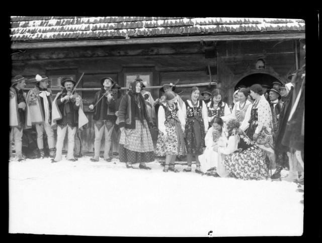 Góralskie wesele na archiwalnych zdjęciach