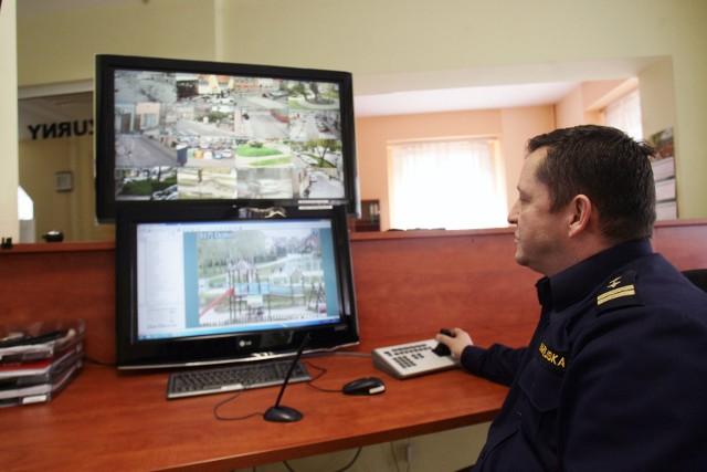 Jan Pomykała, komendanta Straży miejskiej w Złotoryi przyznaje, że monitoring ma działać przede wszystkim prewencyjnie