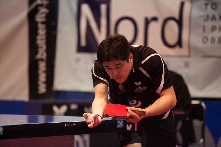 Cazuo Matsumoto w spotkaniu z AZS-em AWFiS-em Gdańsk triumfował dwóch grach indywidualnych oraz w jednej deblowej