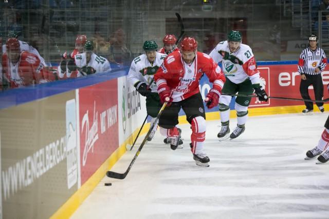 Liga Mistrzów w hokeju z udziałem Comarch Cracovii.