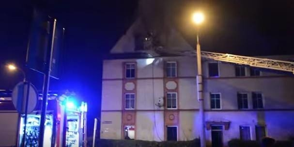 Pożar na Kościuszki w Raciborzu. To było podpalenie