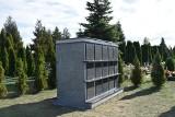 Kolumbarium na cmentarzu komunalnym w Sępólnie już gotowe. Do wykupienia 30 nisz