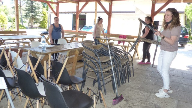 Kawiarnia KafeJaAga na terenie ośrodka sportu i rekreacji nad zalewem w Suchedniowie szykuje się do otwarcia w sobotę 15 maja.