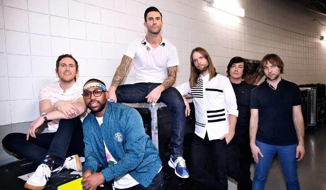 Maroon 5 wystąpią w Polsce
